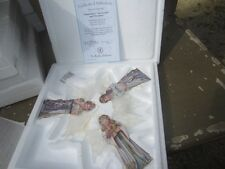 Bradford Exchange Heavenly Innocence Ornaments 5Th Issue Coa Box Devotion