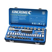 """Kincrome 61 Piece 1/4"""" And 3/8"""" Drive Metric and Imperial Socket Set K28066"""