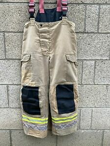 Ex Fire & Rescue Trousers Fire Service Firefighter Thermal Bristol Uniform Va...