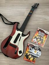Guitare + Jeu Guitar Hero World Tour Complet Rock Nintendo Wii Legend 5 3 U