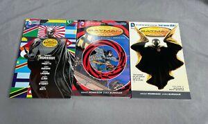 Batman Incorporated by Grant Morrison 3 TPB Lot DC Comics