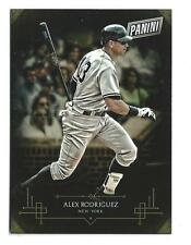 2015 Panini Black Friday Collection #2 Alex Rodriguez Yankees