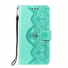 Handyhülle für Xiaomi Redmi Note 10 Pro Schutztasche Cover Bumper Wallet Grün