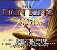 Disney's The Lion King - SNES Super Nintendo Game