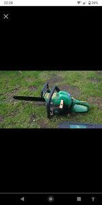 Breaking Gardenline Petrol Chainsaw