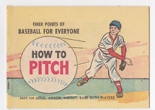 International Harvester How To Pitch Comic Book 1960 Genuine IH Parts