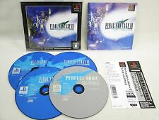PS1 FINAL FANTASY VII 7 INTERNATIONAL Ultimate Hits FF7 SPINE * Playstation p1