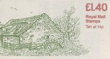 Gb Qeii 1981 Cyl Booklet Fm1A - Preston Mill, Scotland - £1.40