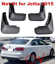 SET VW Jetta MK6 2013-2014 MUD FLAPS MUD SPLASH GUARDS 4PCS FRONT AND REAR UK