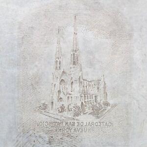 American Bank Note Company: Panama Printing Plate (Church)