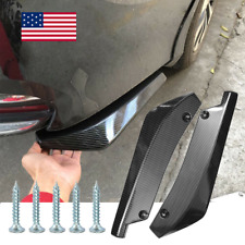 Car Carbon Fiber Rear Bumper Lip Diffuser Splitter Canard Protector Top Seller