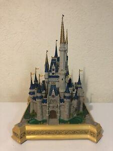 Disney Theme Parks WDW Cinderella Castle Medium Figurine