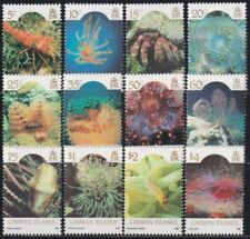 F-EX25923 CAYMAN IS MNH 1986 SEA MARINE WILDLIFE CORAL REEF TROPICAL FISH PECES.