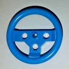 2x LEGO Technic Large Steering Wheel - Blue - New - (EV3, NXT, Mindstorm)