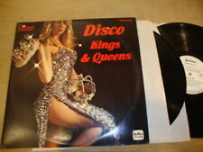 Various Artist - Disco Kings And Queens - Double LP Record  VG+ VG+  VG+