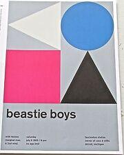 Beastie Boys -R&R Band Mini Concert Poster  Reprint 1983 Detroit Mi 13x10
