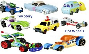 Toy Story 4 Hot Wheels Die-Cast Car Ages 3+ Toy Woody Forky Buzz Lightyear Race