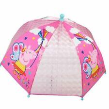 PEPPA PIG DOME HIGH QUALITY Umbrella Kids Childrens Umbrella School Official