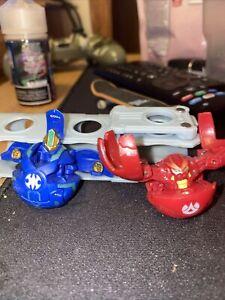 Bakugan Battle Brawler 2 Brawlers and Carrying Clip Case