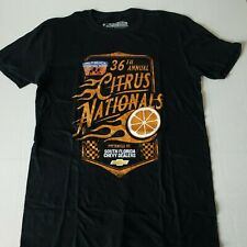 36th Annual Citrus Nationals Palm Beach International Raceway T-Shirt Sz M Black