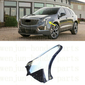 Left Side Lucency Headlight Cover With Glue For Cadillac XT5 2015-2020