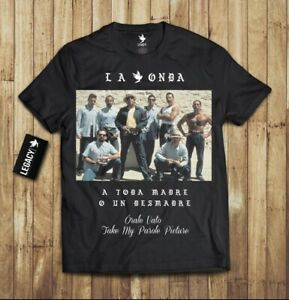 La Onda Blood In Blood Out T-Shirt limited edition Vatos Locos rare collection