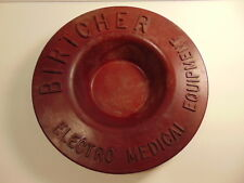 Britcher Electro Medical Equipment advertising heavy plastic / composite bowl