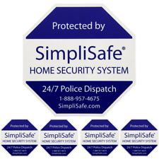 Home Security Signs Amp Decals For Sale In Stock Ebay