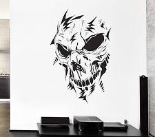 Wall Decal Monster Horror Skull Fear Darkness Skeleton Vinyl Stickers (ed070)