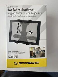 """Scosche Rear Seat Headrest Tablet Mount Open Box 8""""-10"""""""