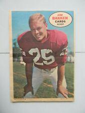 1968 Topps Football Poster Insert - Jim Ballen St Louis Cardinals Vgex Aug218