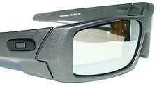 NEW* OAKLEY GASCAN Lead Steel POLARIZED Galaxy Chrome Mirror Sunglass 9014