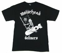 Motorhead Delivers 2015 Tour Black T Shirt New Official Merch NOS