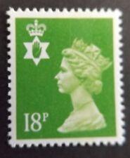 GB QEII Irlanda del Nord. SG ni47 18p Brillante Verde CB. REGIONALE Machin