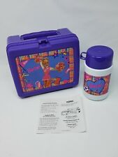 Barbie Lunchbox NEW With Thermost 1996 Retro Barbie Cheeleader Back to School