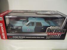 Auto world 1:18 AMM1023 - Dodge Monaco Police Massachusetts 1974
