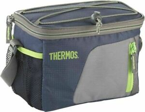 Navy Thermos Insulated Cooler 6 can / 3.5 L Coolbag Camping Beach Picnic Lunch