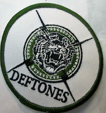 Deftones Collectable Rare Vintage Patch Embroided 2004