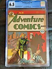 ADVENTURE COMICS #60 CGC FN+ 6.5; OW-W; Creig Flessel Sandman cover!