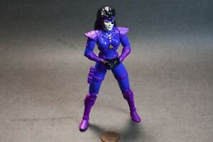 "Domino X-Force 1995 Marvel ToyBiz 5"" Figure no Weapons"