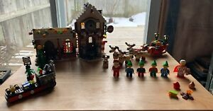 LEGO SANTA'S WORKSHOP 10245 99 % COMPLETE WITHOUT BOX & instructions