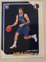 Luka Doncic NBA Hoops Basketball Karte 2018-2019 Mavericks NM-EX Rookie