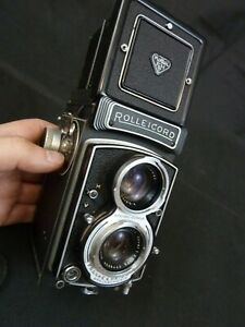 Rollei Rolleicord TLR Film Camera Xenar Lense With Case