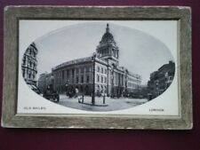 POSTCARD LONDON THE OLD BAILEY - EMBOSSED