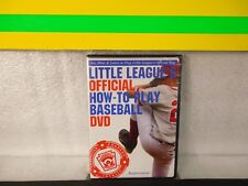 Little League's Official How-to-Play Basebal  on  dvd new sealed  Rare