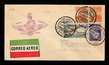 Mexico 1929 First Flight Cover San Jeronimo to Mexico City