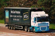 Truck Photo: 3D Transport - DAF XF - SN08 EKO - Berwick Northumberland