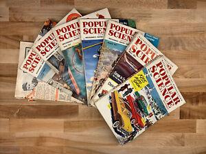 Popular Science 1954 Lot of 8