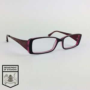 KAREN MILLEN eyeglasses PURPLE RECTANGLE glasses frame MOD: KM 22 2528315