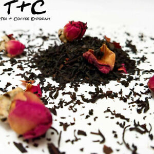 Chinese Rose Tea - Premium Black Tea-Based Ceylon 25g - 1kg